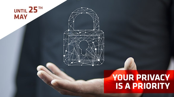 Update Your Personal Data - New GDPR